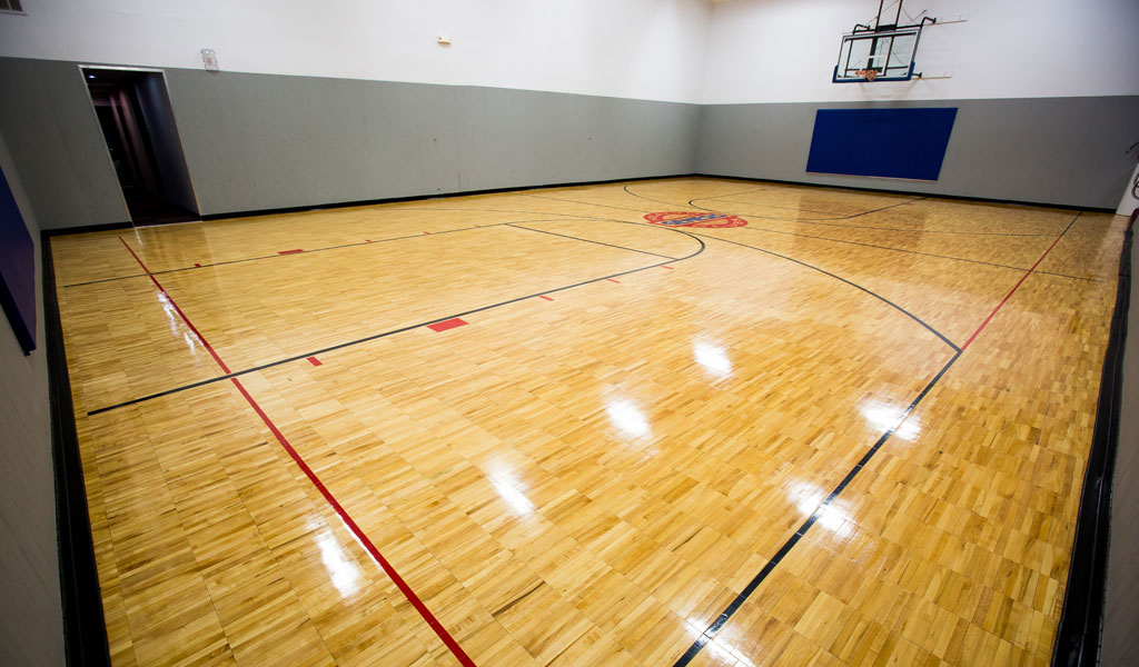 Commercial Hardwood Floor Refinishing Gym Photo Hardwood