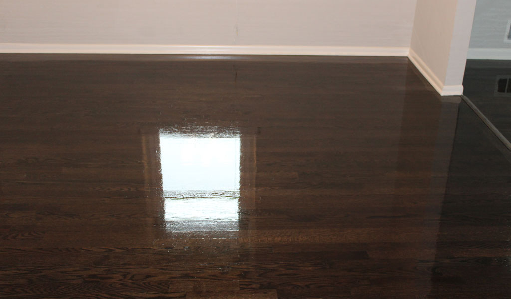 Gloss Hardwood Finish