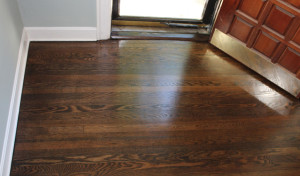 Semi Gloss Hardwood Floor Refinish