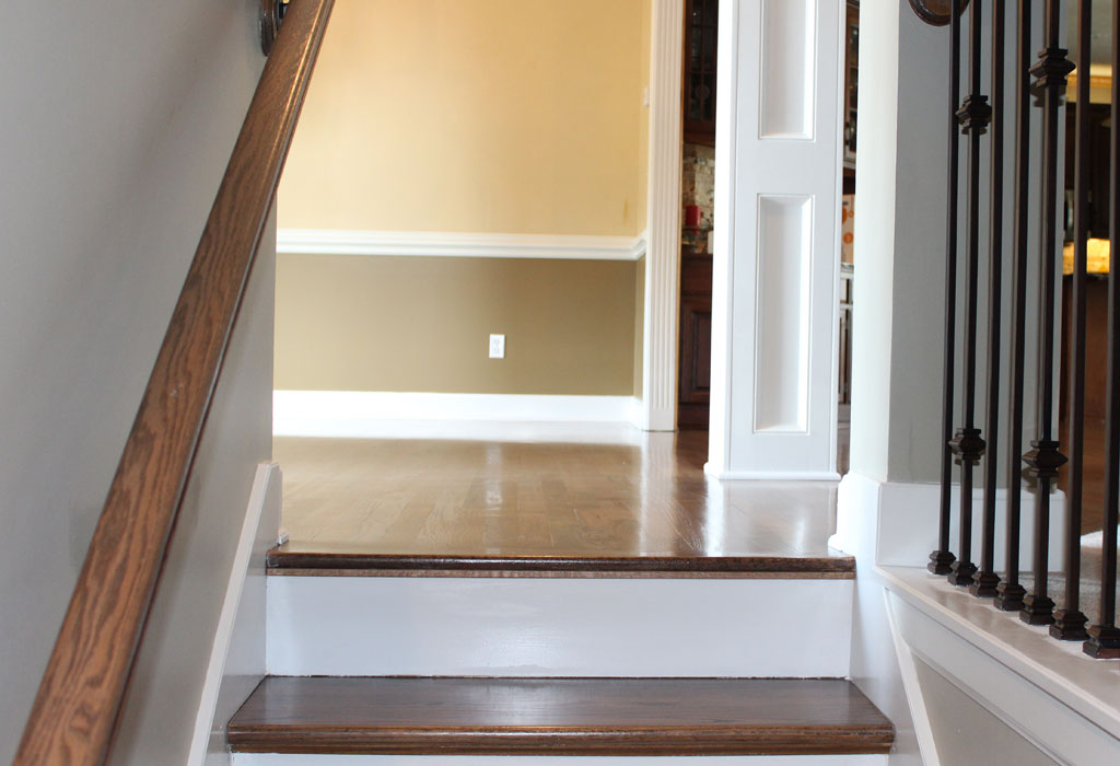 hardwood floor refinishing custom stairs kansas city