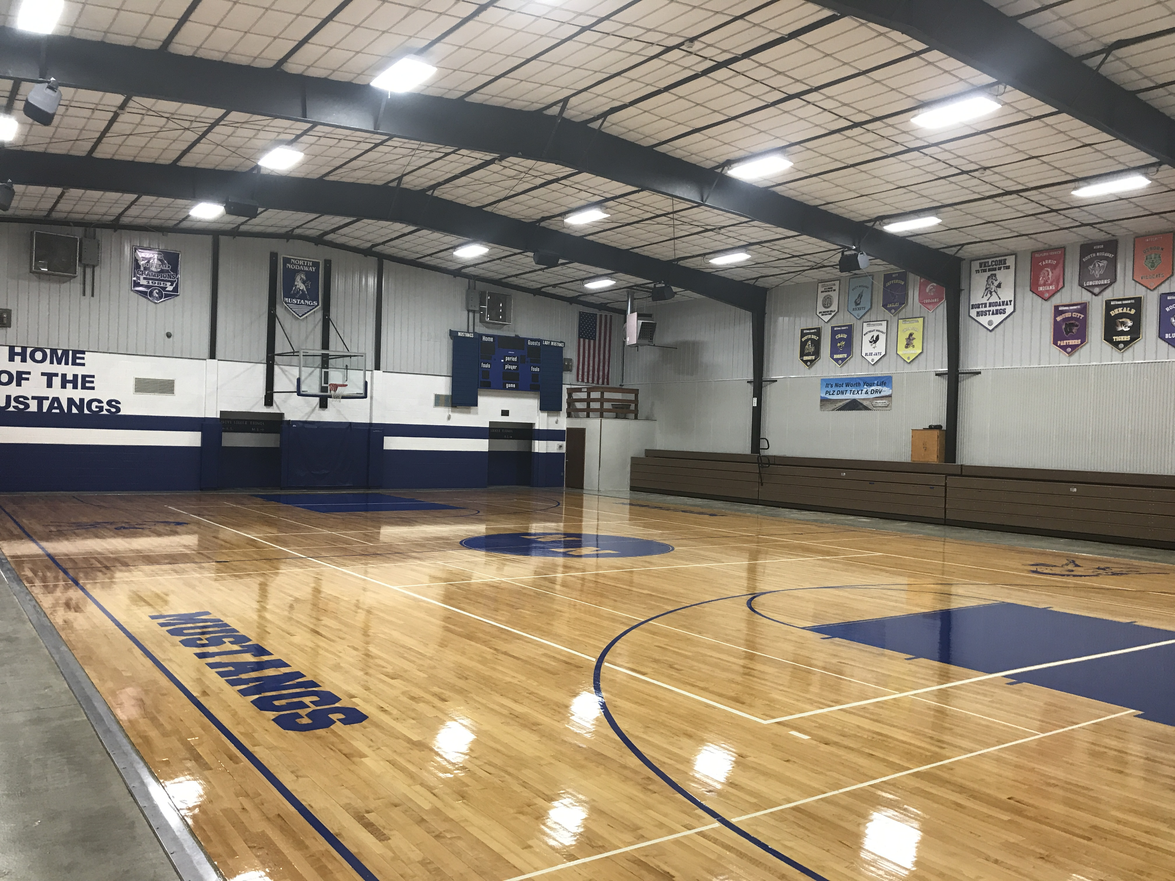 Gym Flooring Installation and Refinish