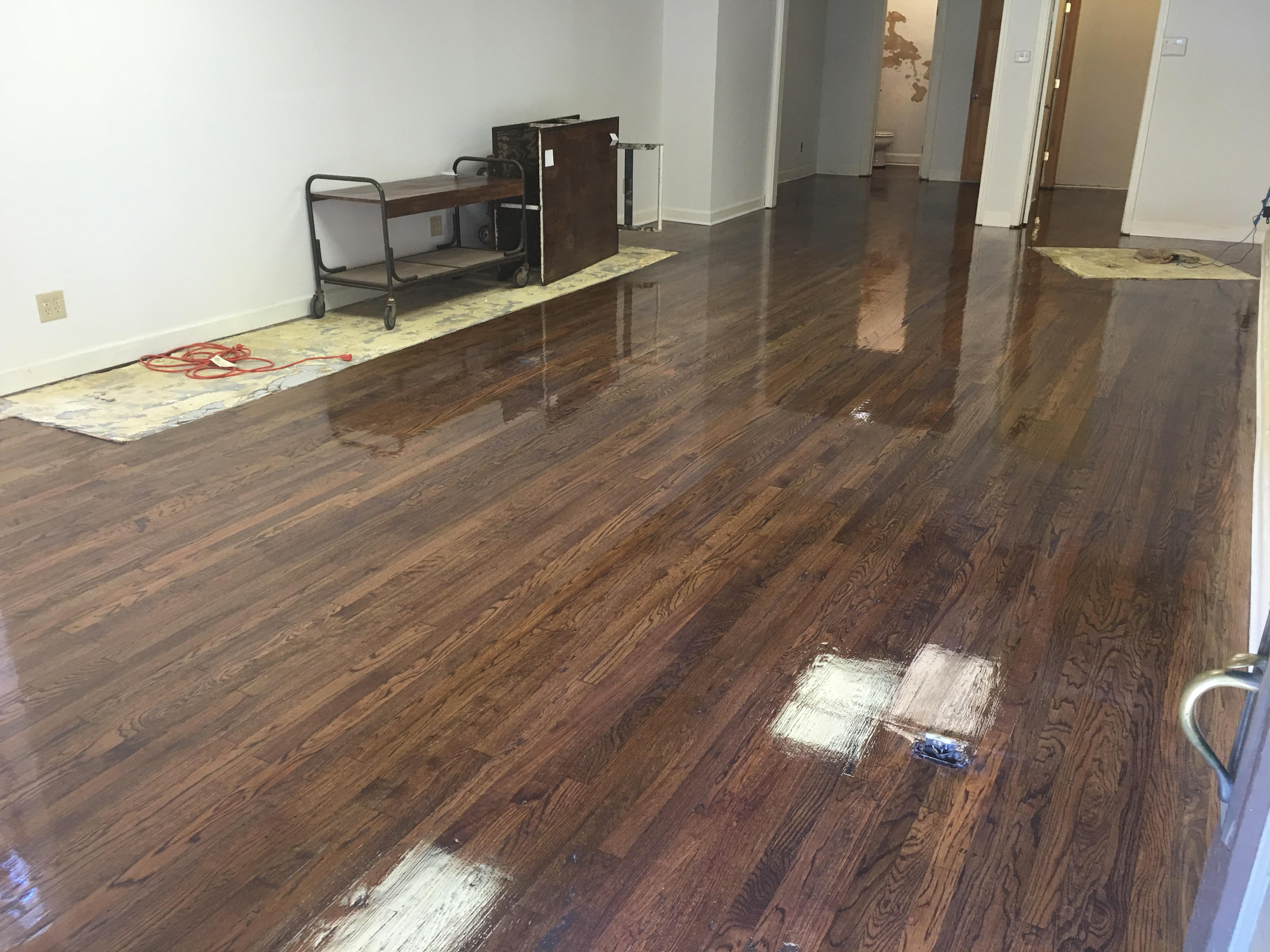 Commercial Space Hardwood Floor Refinishing Hardwood