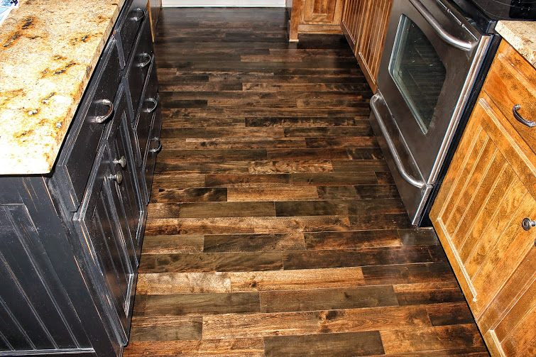 Ash Pre Finished Hardwoods W Espresso Stain Color
