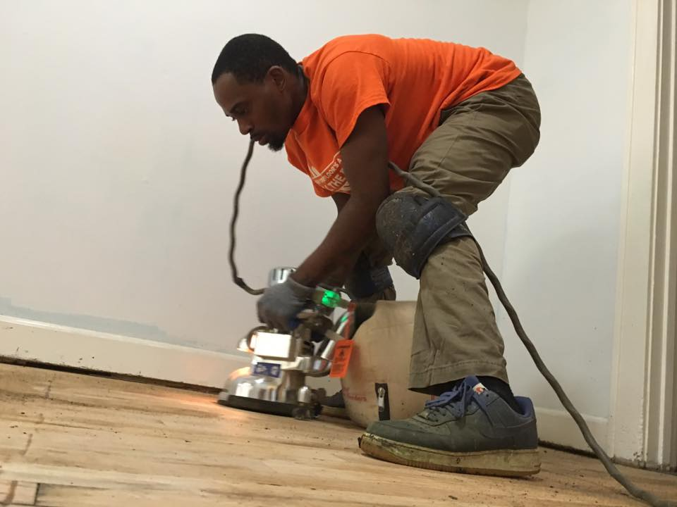 Hardwood Floor Refinishing - DIY