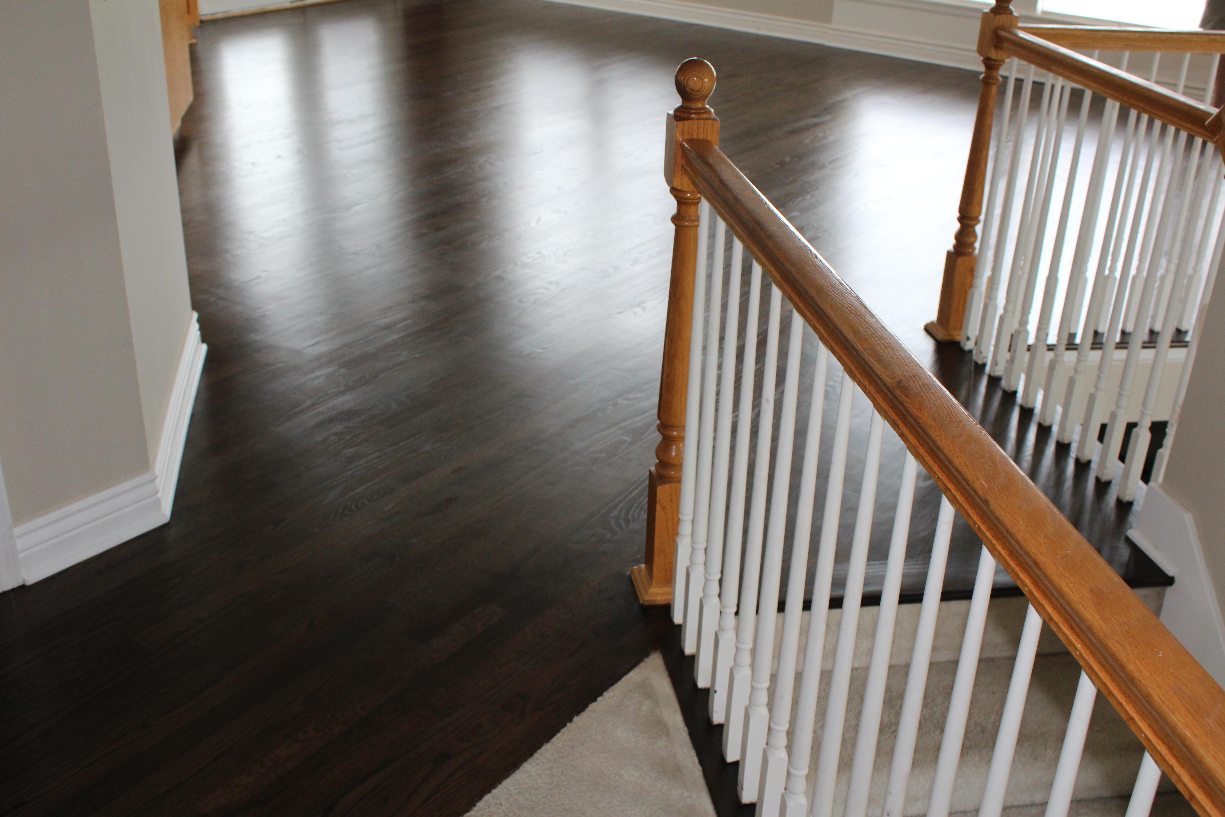 Black Stained Hardwoods Kansas City Hardwood Floor