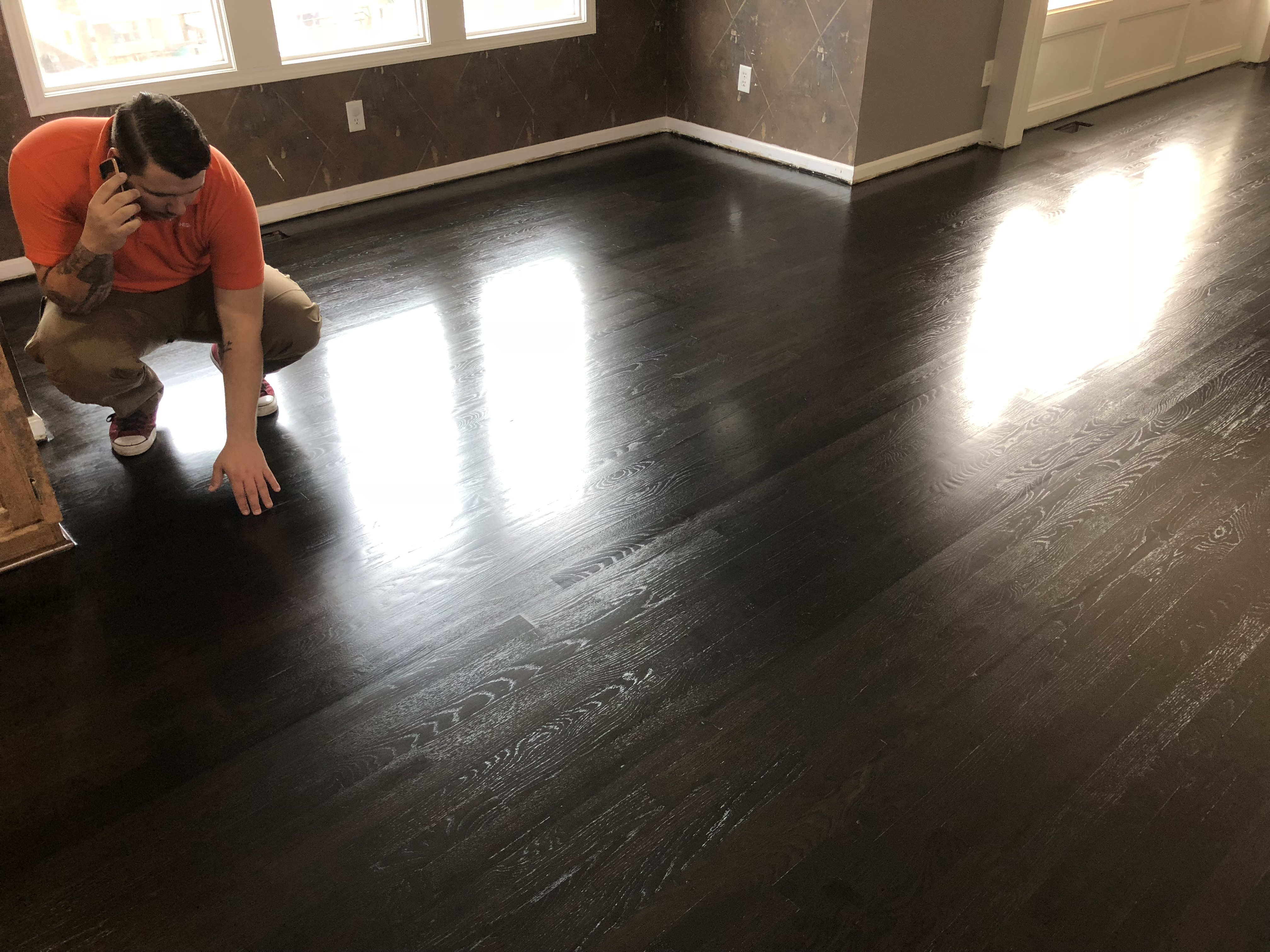 Hardwood Floor Refinishing Project Showcase