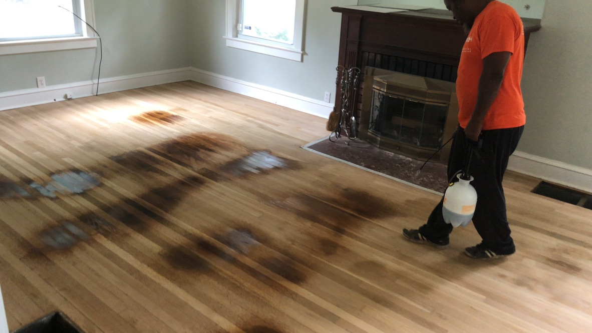 Spot Treating Pet Stains On Hardwood Floors Hardwood