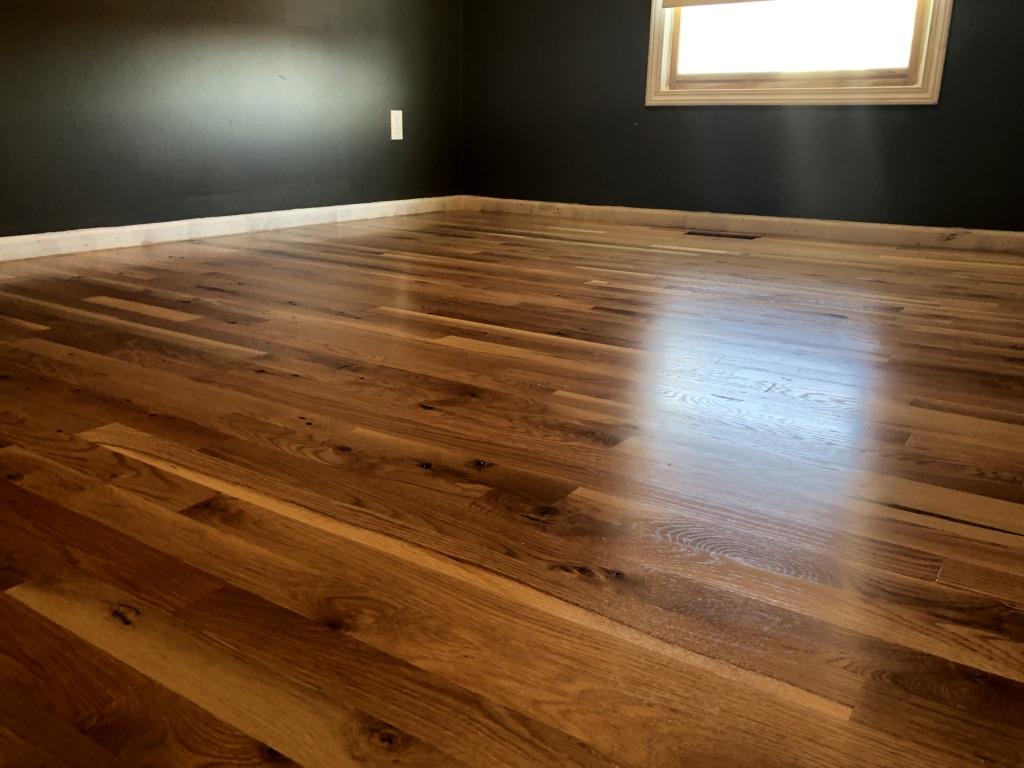 Gladstone Mo Install And Refinishing White Oak Hardwoods